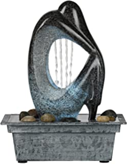 Amazon.com : Kenroy Home 50326WDG Mantra Indoor Table Fountain ...