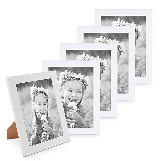 26 opinioni per Photolini Basic- Set da 5 cornici fotografiche da 15x20 cm Photolini Basic