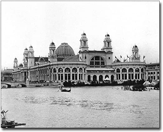 1893 WORLD/'S COLUMBIAN EXPOSITION CHICAGO 8x10 SILVER HALIDE PHOTO PRINT