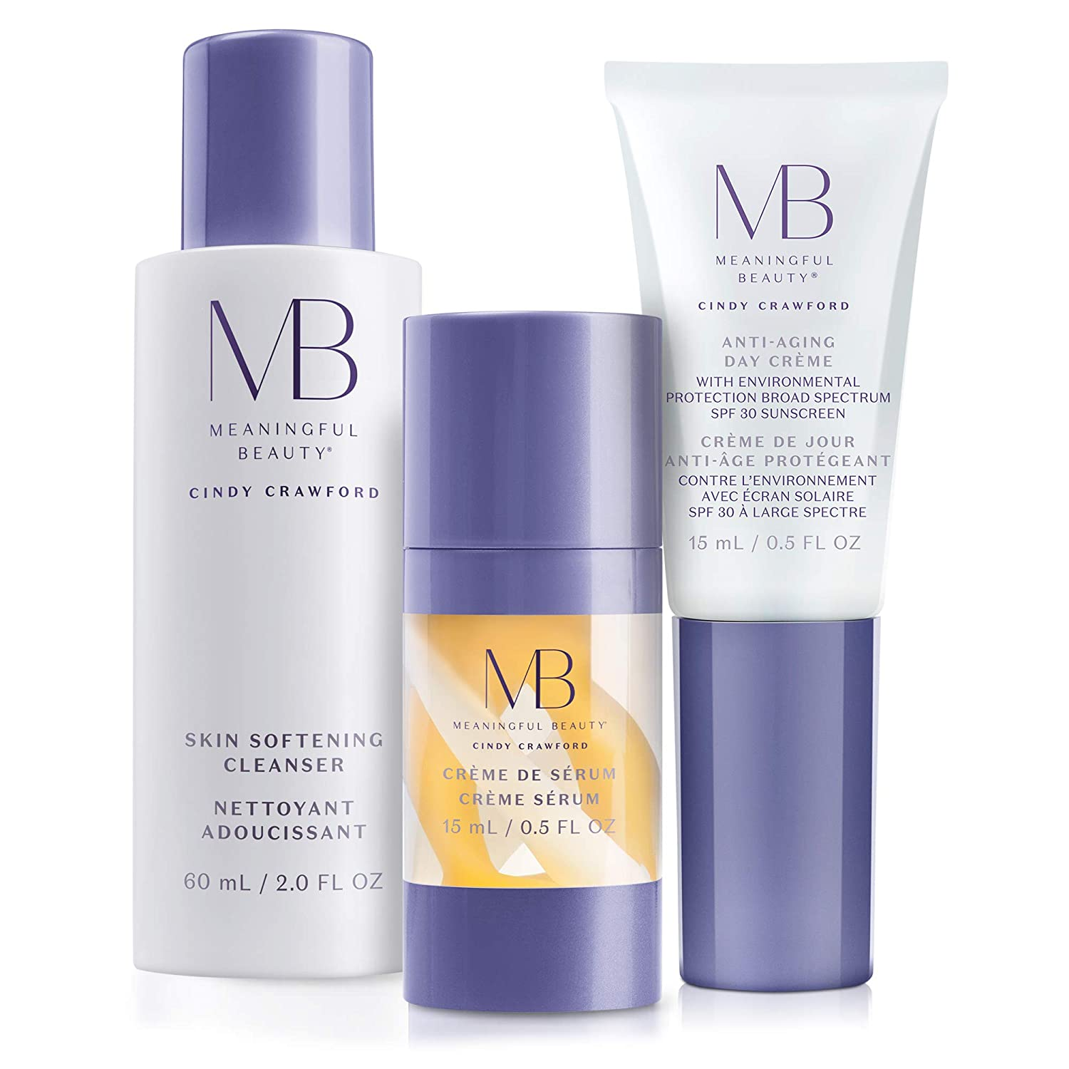 Meaningful Beauty Anti Aging Daily Skincare System, Kit
