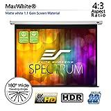 Elite Screens Spectrum, 100-inch Diag 4:3, Electric