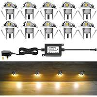 Luces LED para cubierta con ojetes, luces