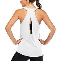 Superora Mujer Camisas sin Mangas Deportivas Camisetas Fitness Yoga Tops Deportes Espalda Abierta