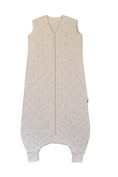Slumbersac - Saco de dormir ligero con perneras, estampado de ositos, densidad de 0