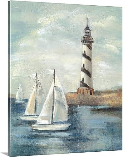 Northeastern Breeze II Canvas Wall Art Print