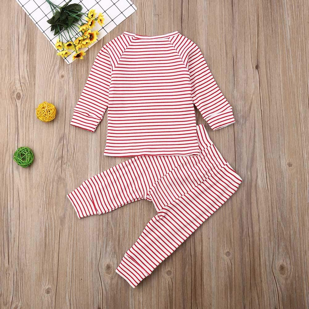 YHLZBNH Boy Pajama Sets,Boys Striped Short Pajama Set,2 Piece Short Sets Summer Sleepwear Clothes Set