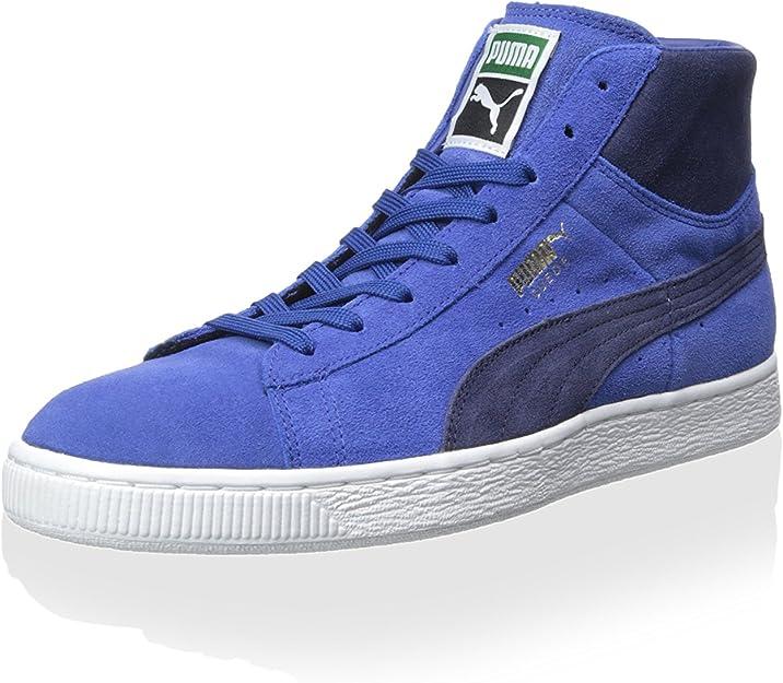 PUMA Men's Suede Mid Classic Sneaker