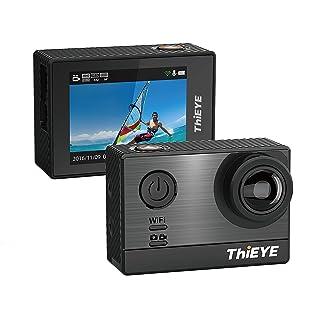 ThiEYE T5e Ultra 4k/30fps WIFI Cámara Deportiva Full HD 1080P 16MP Cámara de Acción 170 grados de Gran Angular Cámara de Deporte Sumergible Hasta 60M