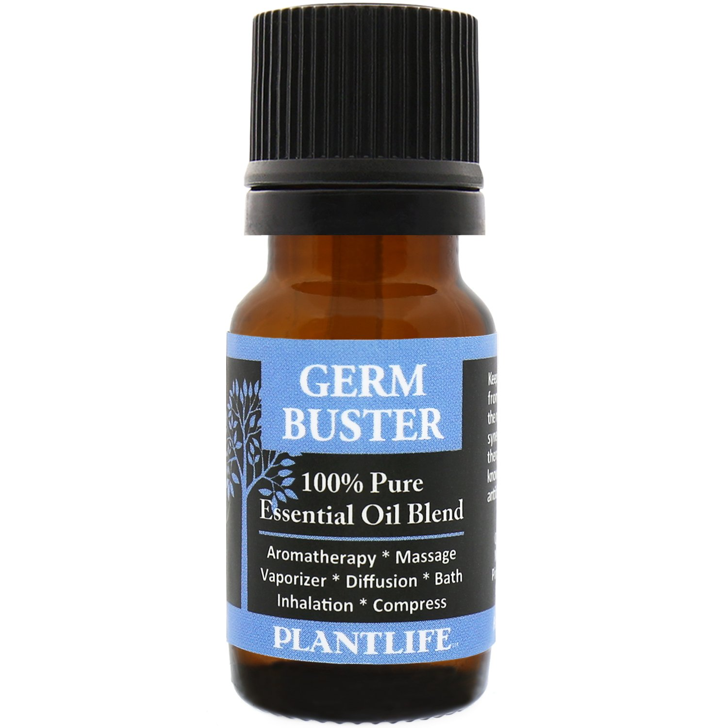 Plantlife Germ Buster Essential Oil Blend (100% Pure and Natural, Therapeutic Grade) from Plantlife