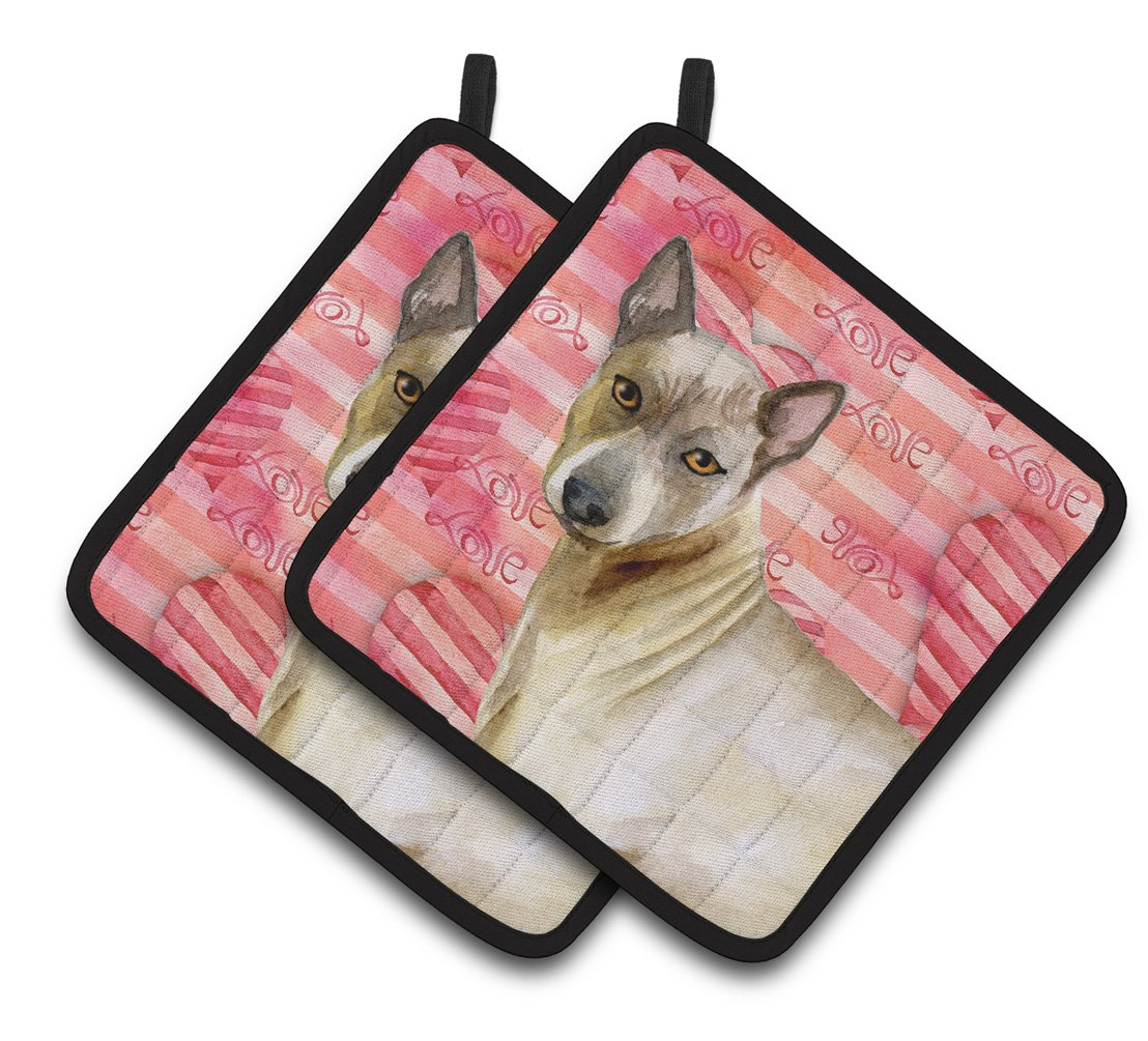 Caroline's Treasures BB9767PTHD Thai Ridgeback Love Decorated Pot Holder, 7.5H x 7.5W, Multicolor by Caroline's Treasures