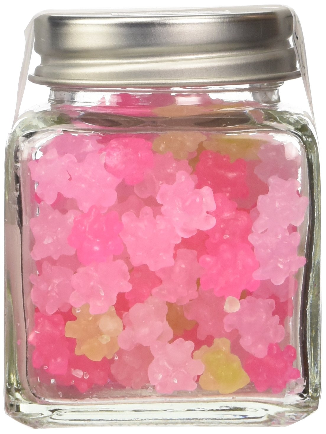 "Konpeito [Primrose ""Sakura Sou""] (50g) [Kyoto Japan Import] Glass Bottle"