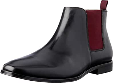 Julius Marlow Men's Phrase Boots, Black (Black), 6 AU