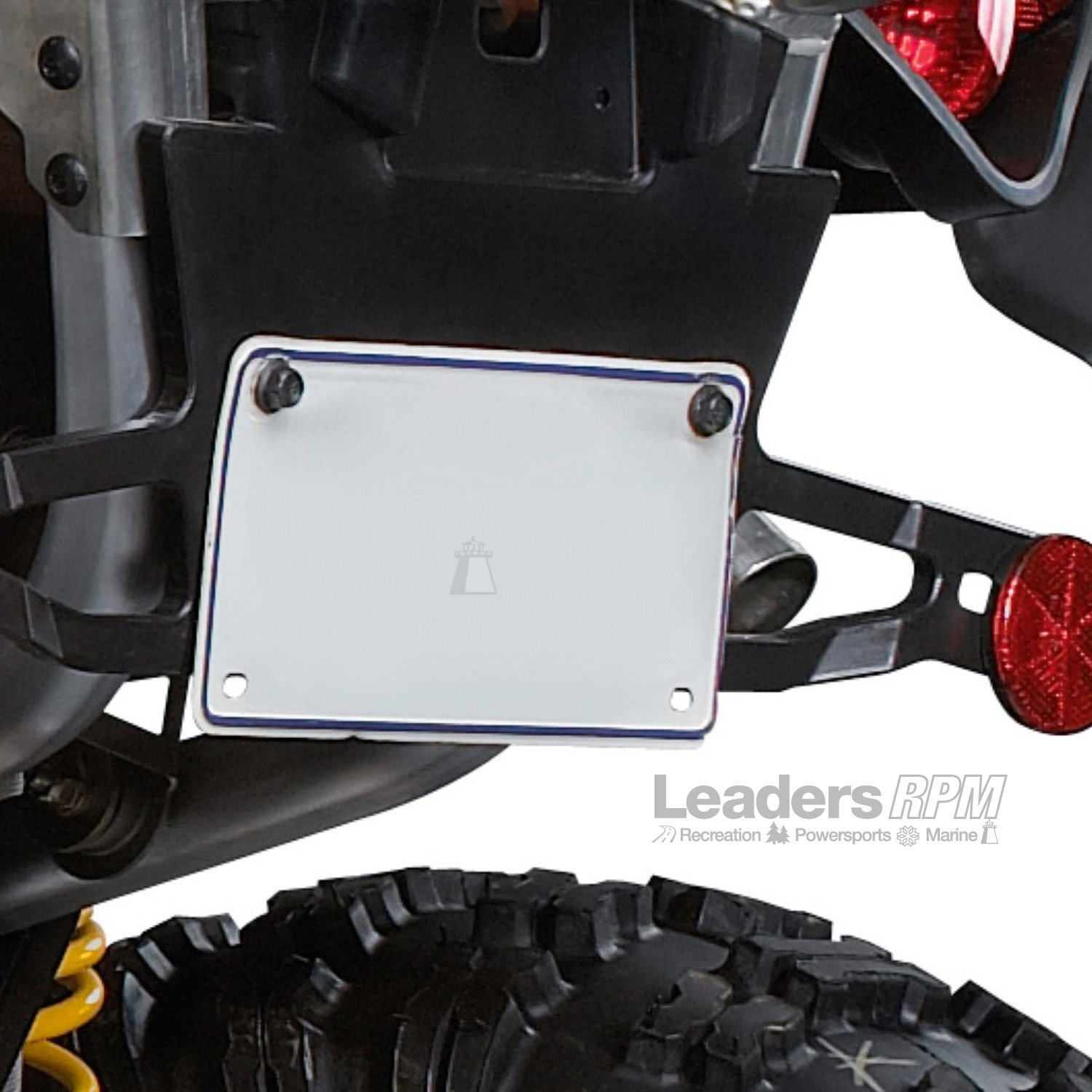Can Am New OEM License Plate Bracket Outlander MAX Body