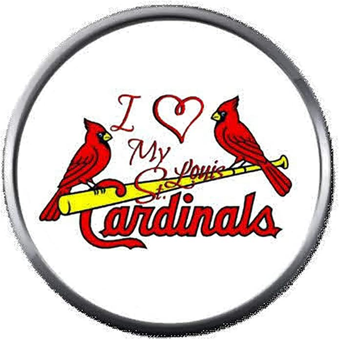 Louis Cardinals ST LOUIS CARDINALS STAINLESS STEEL LOGO BAND RING SIZE 6 Size One Size MLB St