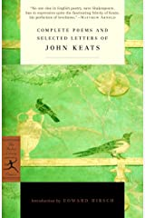 Complete Poems and Selected Letters of John Keats (Modern Library Classics) Paperback
