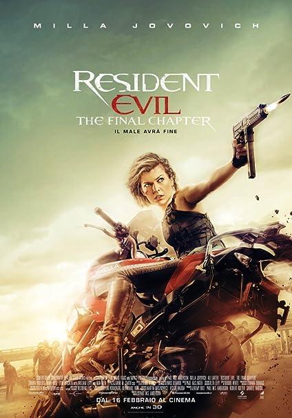 Resident Evil: The Final Chapter Ex Rental Italia Blu-ray: Amazon.es: Iain Glen, Milla Jovovich, Shawn Roberts, Paul W.S. Anderson, Iain Glen, Milla Jovovich: Cine y Series TV