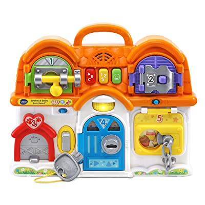 VTech Latches and Doors Busy Board: Toys & Games