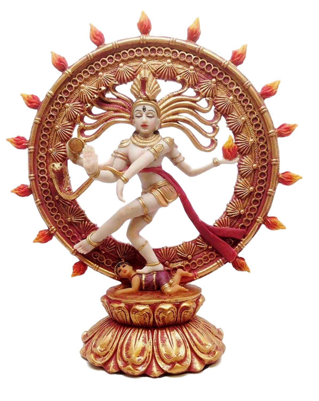 9'' Height Hinduism Decoration Hindu Shiva Nataraja Divine Dance Figurine Statue