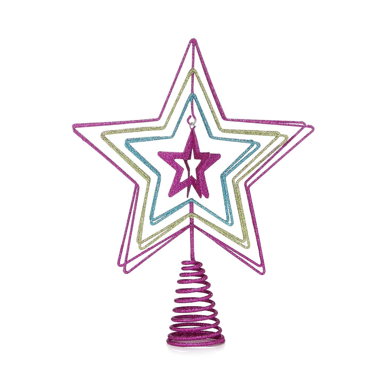 Debenhams Multicoloured Star Tree Topper