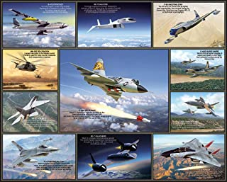 product image for White Mountain Puzzles Legendary Aircraft - 1000 Piece Jigsaw Puzzle