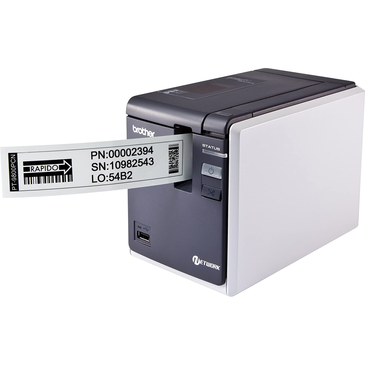Brother 9800PCN PC Label Printer Occupational Health & Safety Products