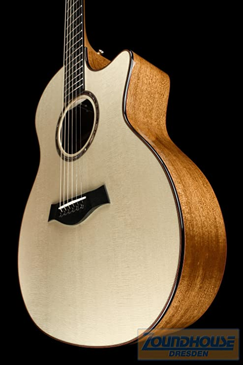 Taylor GA Cstm Custom Grand Auditorium Western Guitarra: Amazon.es ...
