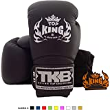 Top King Muay Thai Boxing Gloves Size: 8 10 12 14 16 oz Color: Black White Red Green Blue Pink Yellow Gold Silver. Design: Air, Super Star, Empower Creativity, Ultimate. Training Sparring Boxing gloves for Muay Thai MMA K1