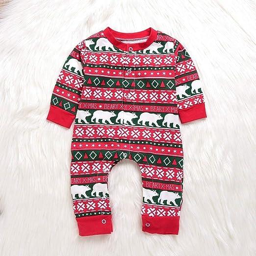 Kwors - Traje para bebés y niñas, diseño de Papá Noel con ...