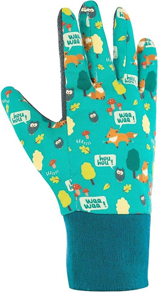 Par de guantes para niños de 6/7 años, diseño de animales y jardín: Amazon.es: Jardín