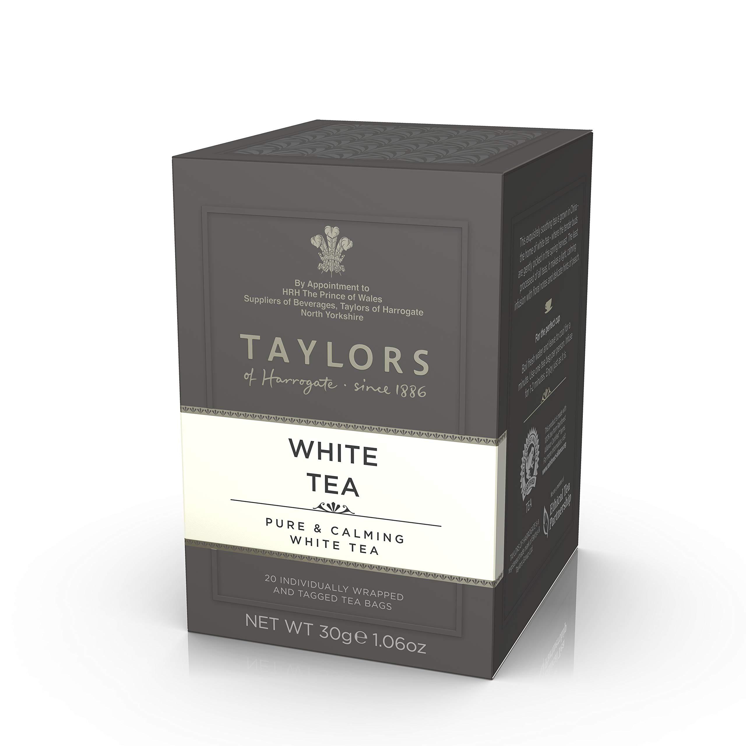 Taylors of Harrogate White Tea, 20 Teabags by Taylors of Harrogate