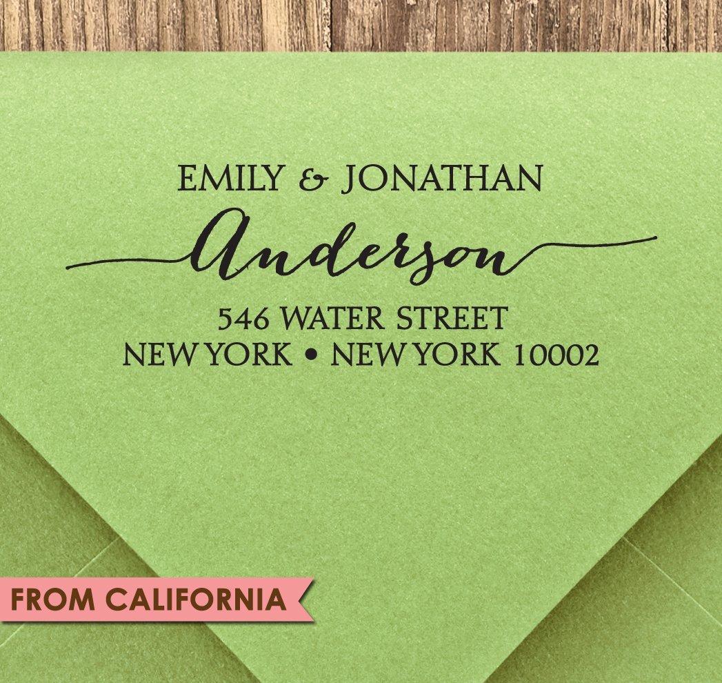 Mailing Address Stamp Save the date Stamp Custom Tree Stamp Personalized,The Wedding Of,Custom Wedding Stamps,Return Address Stamp STP58