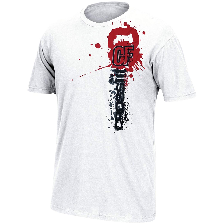 8909938b9a0 Amazon.com: Reebok Crossfit Splashed Paint Logo Men's White T-Shirt ...