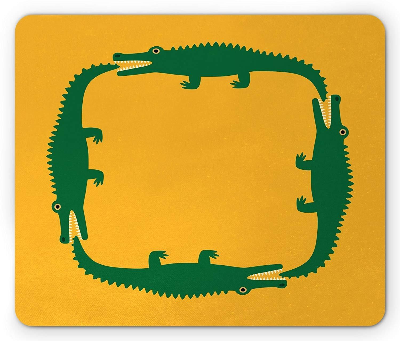 VAICR Alfombrillas de Ratón Alligator Mouse Pad,Toddler Crocodile ...