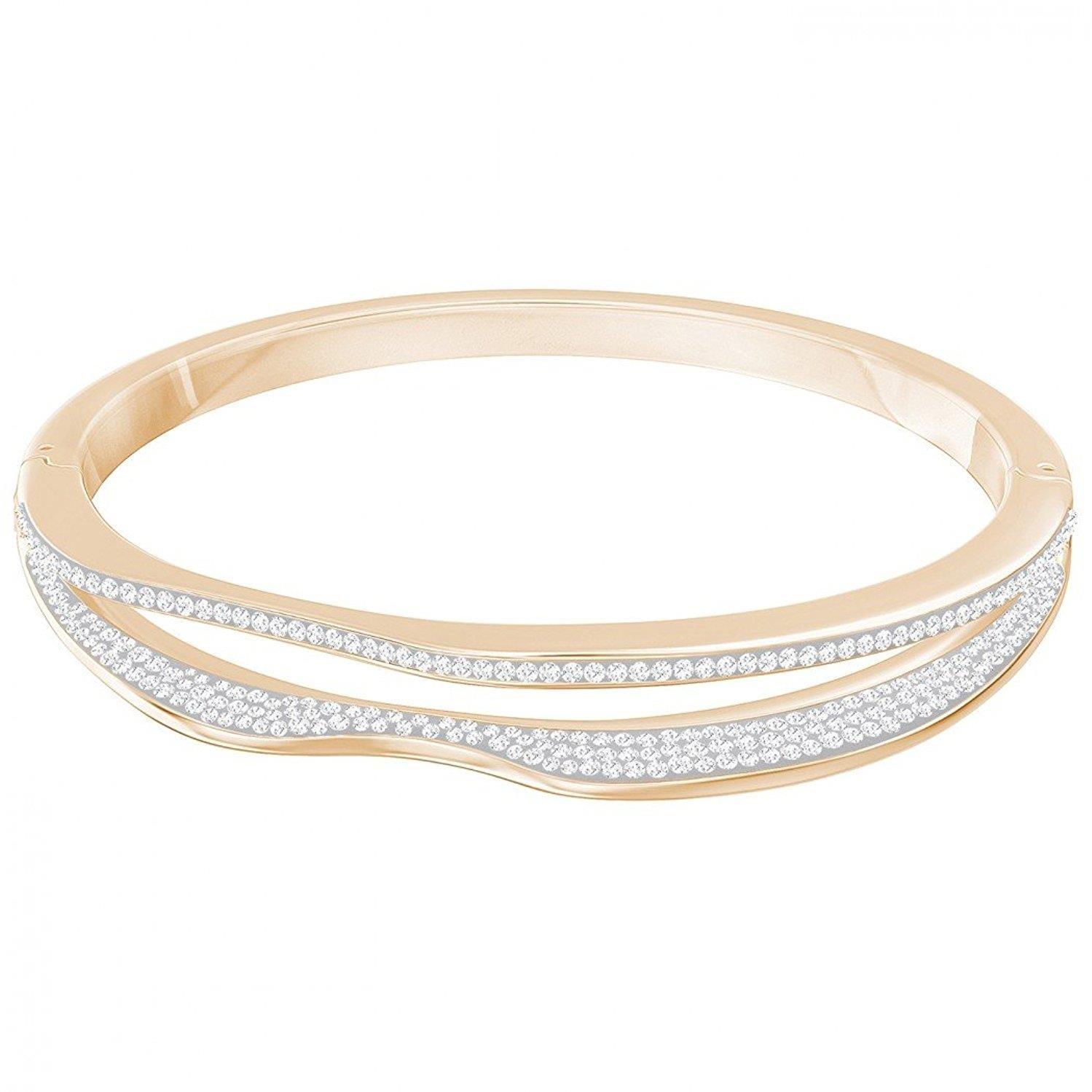 fe8af9ec622f3 Swarovski HILLY NARROW BANGLE 5350668: Amazon.co.uk: Jewellery