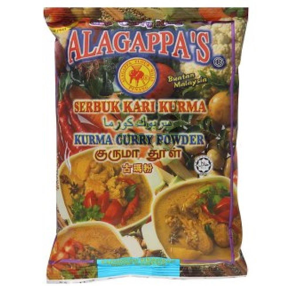 Alagappa's Kurma Curry Powder 200g (628MART) (3 Packs)