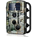 "ENKEEO PH730S Trail Camera 1080P 12MP HD Wildlife Game Hunting Cam with 42PCS 840NM IR LEDs Night Vision, 0.2s Trigger Time, 2.4"" LCD Screen, Time Lapse, 65ft Range and IP54 Water Resistant"