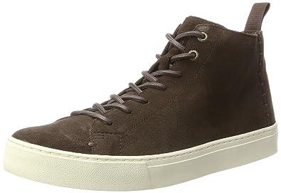 4417766b8d54 TOMS Men s Lenox Mid Chocolate Brown Suede 7 ...