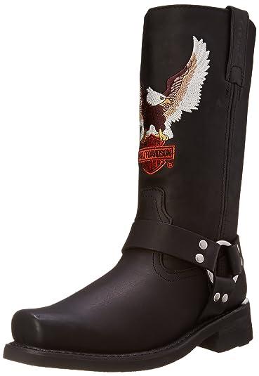 Harley-Davidson Men's Darren Motorcycle Harness Boot, Black, ...