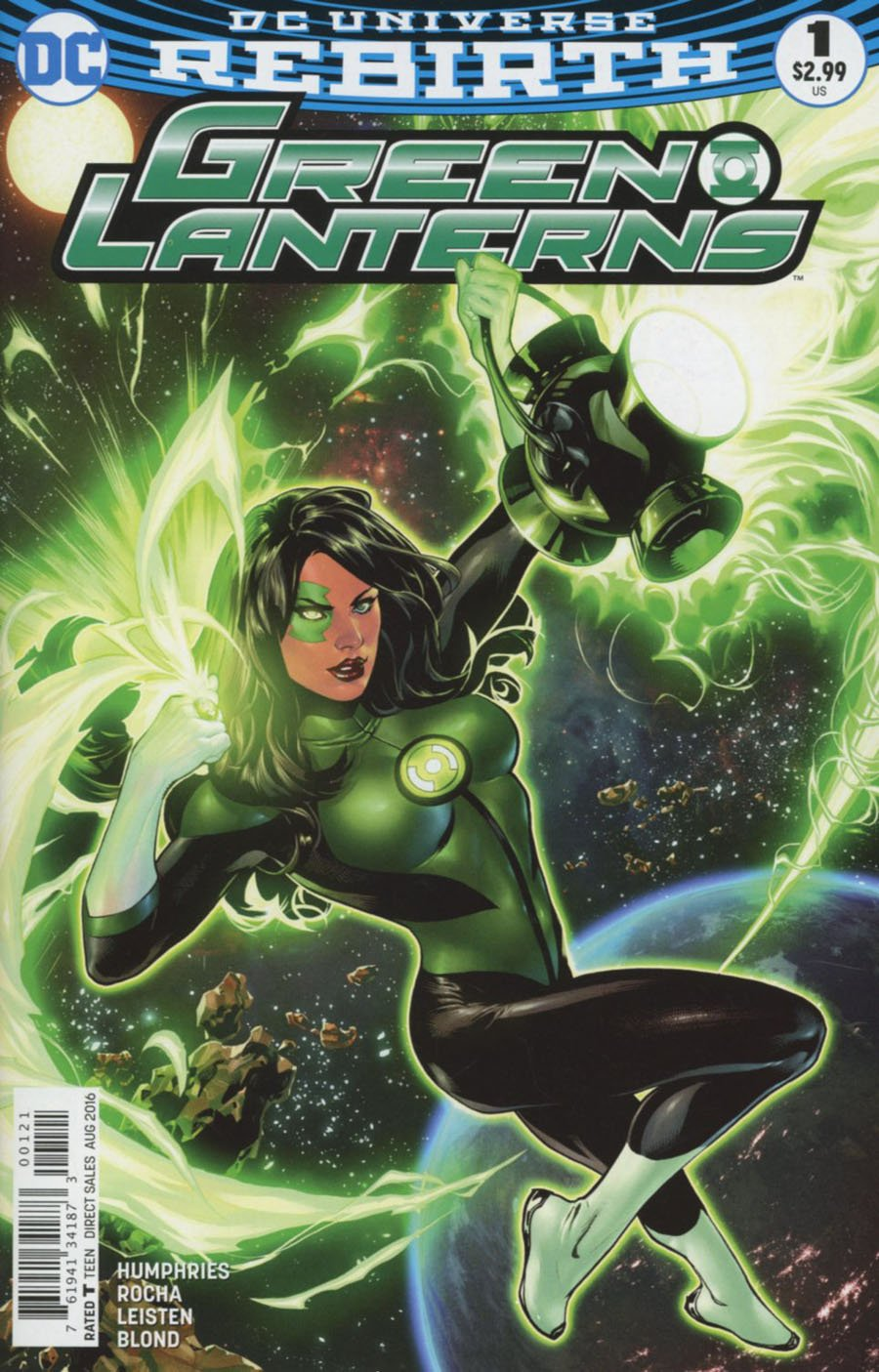 Green Lanterns #1 Cover B Variant Emanuela Lupacchino Cover ebook