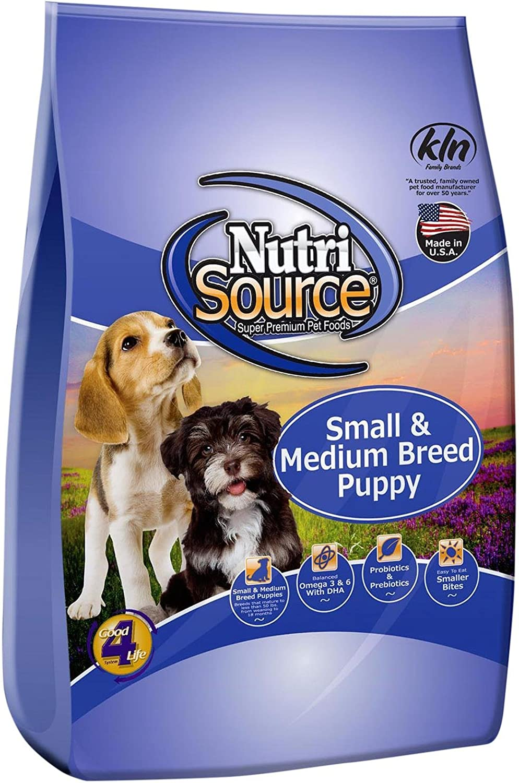 Tuffy'S Pet Food 131508 Nutri Small/Medium Breed Puppy Food, 30-Pound