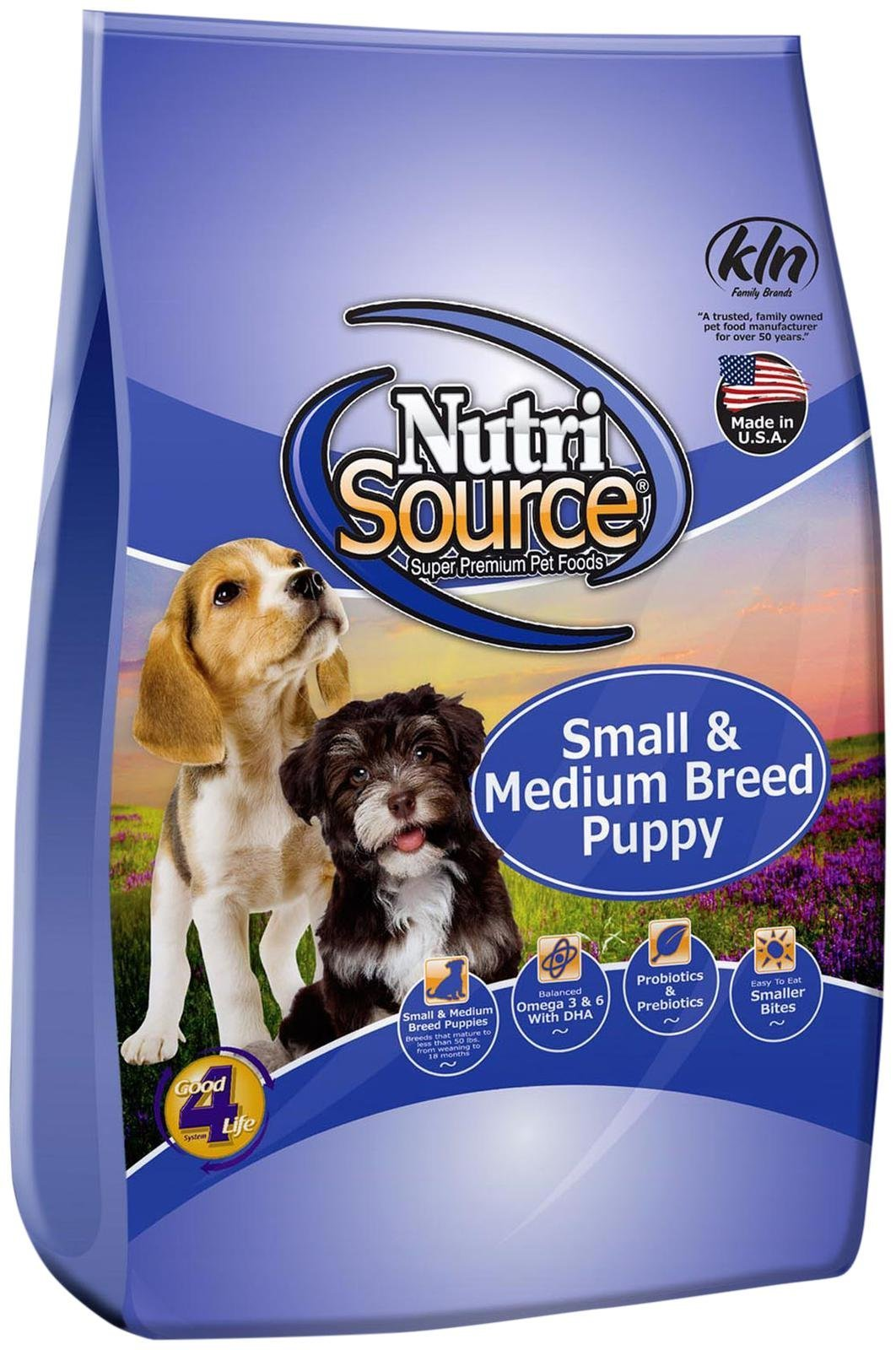 Tuffy's Pet Food 131508 Nutri Small/Medium Breed Puppy Food, 35-Pound by Nutri Source (Image #1)