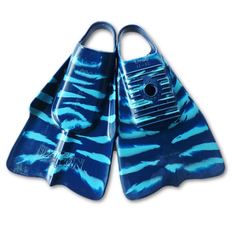 DaFin Zak Noyle Blue/Light Blue Swimfins for Bodysurfing - Small