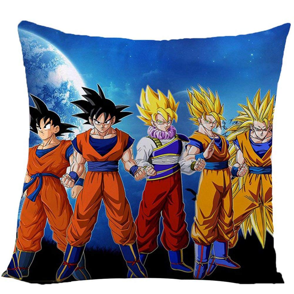 zhongjiany Anime Dragon Ball Super Funda de Almohada Funda ...