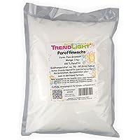 TrendLight ® 8900181kg de cire de paraffine pure blanc pour fabriquer des bougies