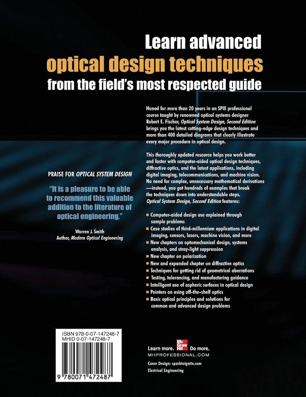 Optical System Design, Second Edition: Amazon.de: Robert F. Fischer ...