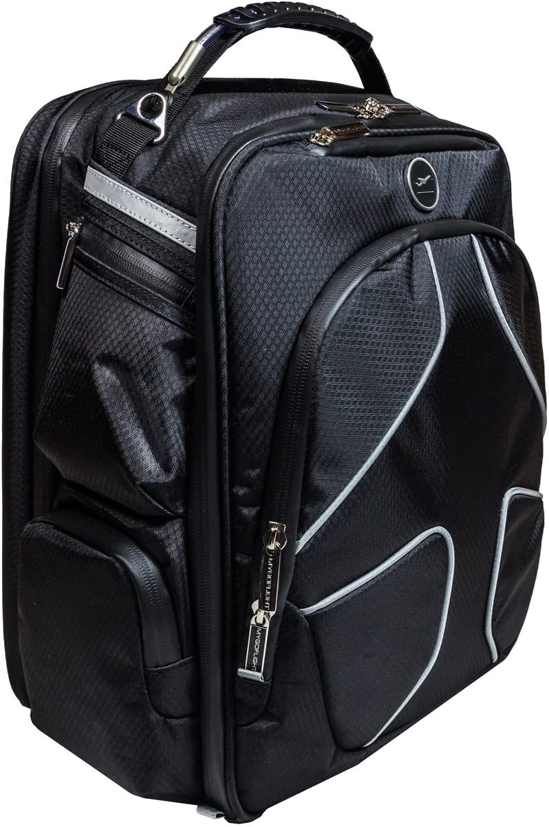 MYGOFLIGHT PLC Pro iPad/Laptop Nylon Cockpit Aviation Flight Bag