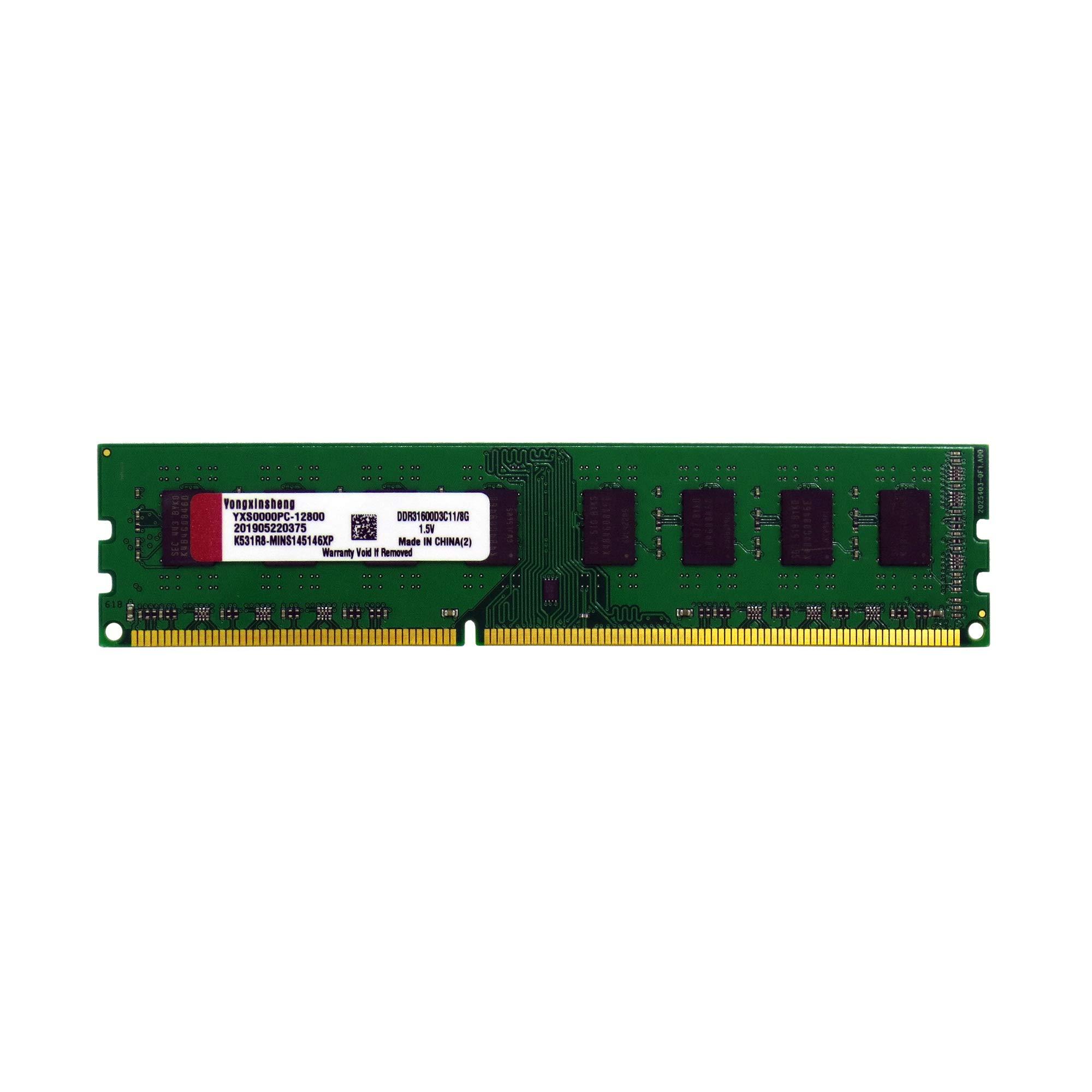 Memoria RAM 4GB Yongxinsheng DDR3 1600Mhz General Big Board