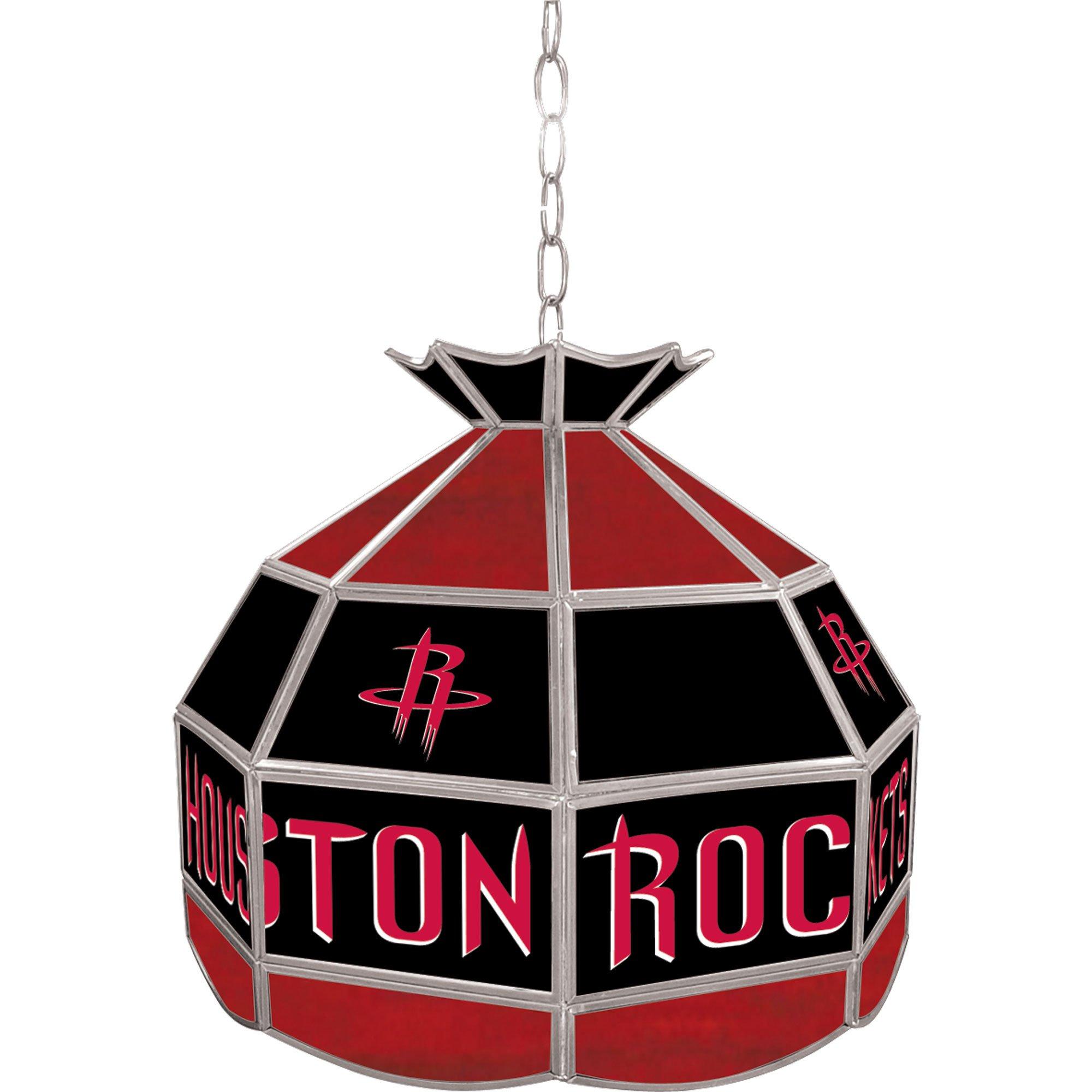 NBA Houston Rockets Tiffany Gameroom Lamp, 16'' by Trademark Gameroom