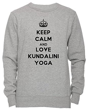 Erido Keep Calm and Love Kundalini Yoga Unisexo Hombre Mujer ...