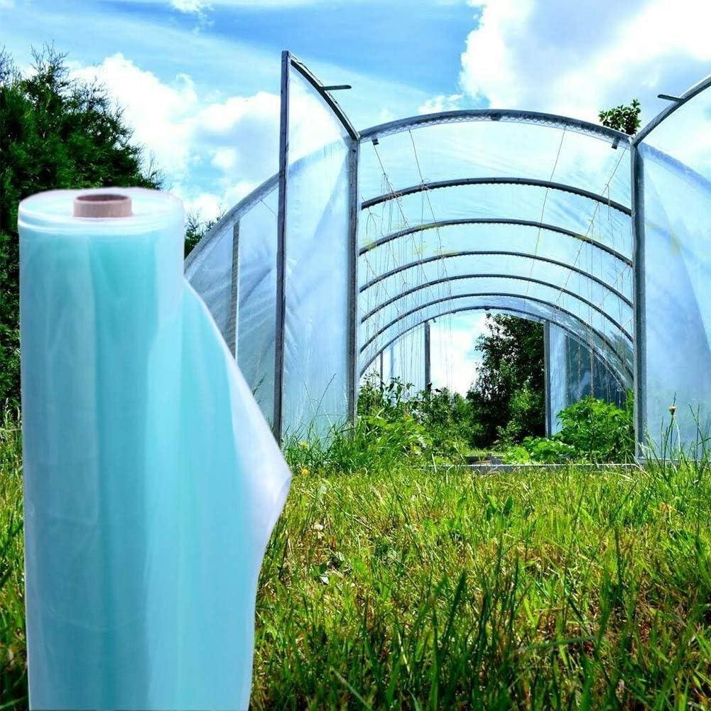 landwirtschaftlicher Anbau mothcattl Gew/ächshausfolie Anti-Aging Gem/üsegew/ächshaus Gartenwerkzeuge Kunststofffolie
